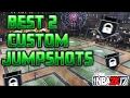 NBA 2K17 Best Custom Jumpshot Creator for Stretch Big
