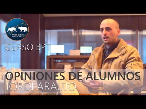 Opinión alumno Jordi Araujo - Curso Básico y Avanzado presencial de BPT