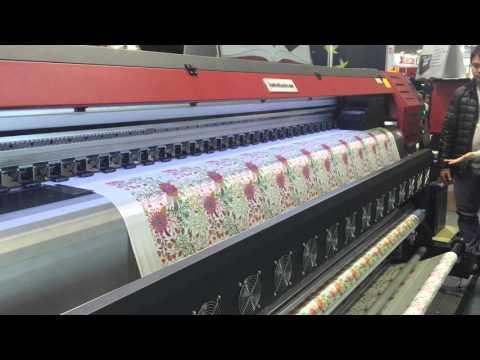 3.2m Textile Printer , pigment ink printing