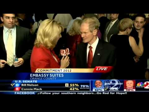 Sen. Bill Nelson talks to WESH about Senate win