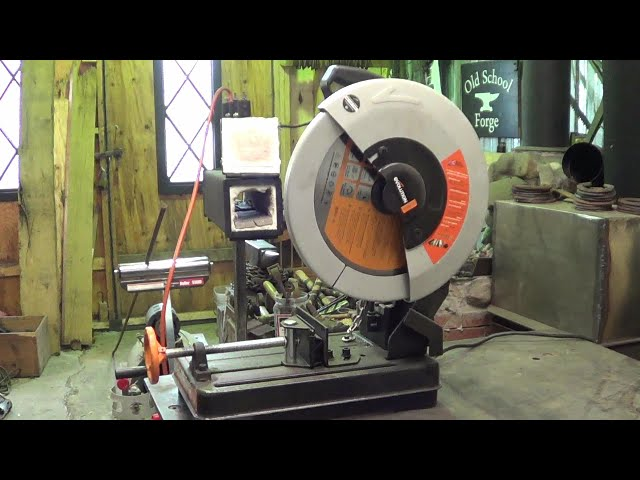 Poor Man's Product Review - Lowes Evolution Rage 2 Steel Cut Off Saw