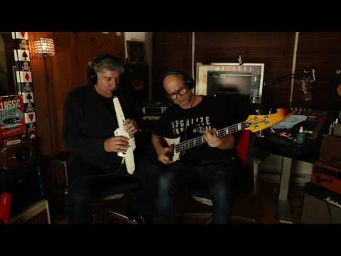AE-10 Aerophone and Guitar Jam Session - Part 2