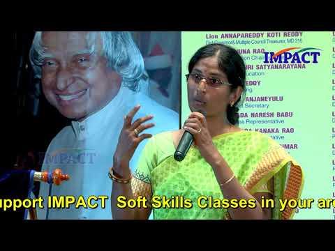 Transformation | Bhavani | IMPACT | 2018
