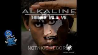 Alkaline- Things Me Love- Notnice Records- May 2013 (RAW)