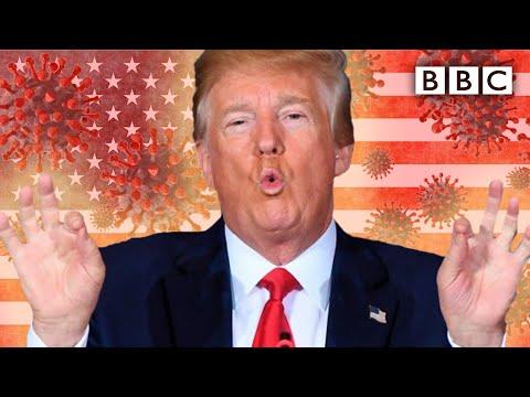 Will getting coronavirus win Donald Trump the presidency? | Question Time - BBC