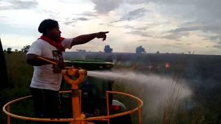 Apagando fogo na Fazenda