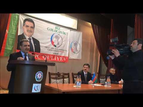 Prezidentliye namized Ferec Quliyevin Şirvan görüşü