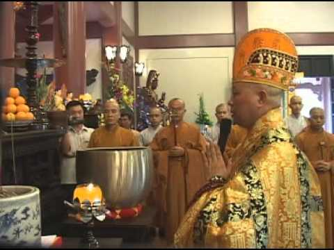Chùa Huệ Nghiêm - Lễ Khai Quang Đại Hùng Bảo Điện - Khai Chung Bản -2