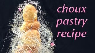 Choux Pastry Recipe & Pastry Cream Recipe HOW TO COOK THAT Ann Reardon