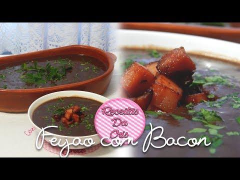 Caldo de Feijão com Bacon!!