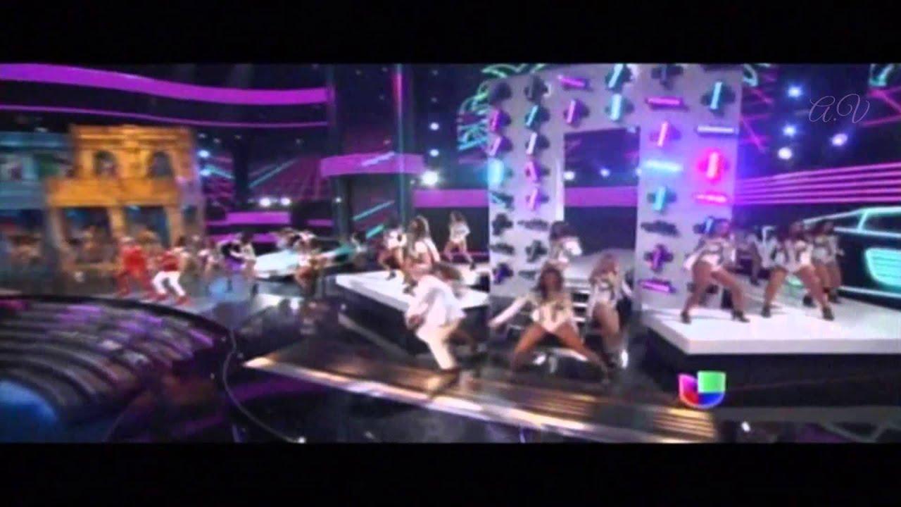 Download Pitbull feat. Gente De Zona - Piensas (Dile la Verdad) -  Premios lo nuestro 2015