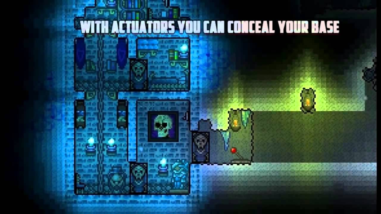 Actuators Terraria Pc Wiring With Colored Actuator Guide 1 2 For Traps Or Hiding Your Base Youtube