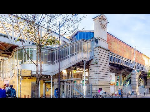 A Walk Around The La Motte-Picquet-Grenelle Metro Station, Paris