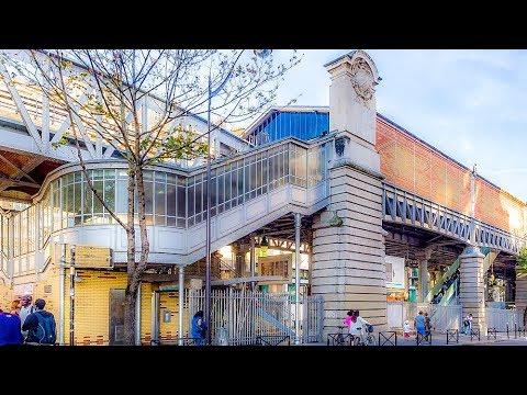 A Walk Around The La Motte-Picquet-Grenelle Metro Station, Paris
