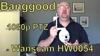 Wanscam HW0054 1080P Mini PTZ Dome IP Camera - Review