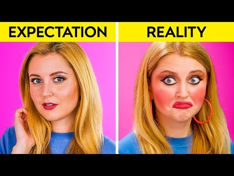 EXPECTATION VS REALITY || Funny Relatable Situations by 123 GO!