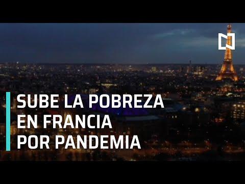 Aumenta la pobreza en Francia por pandemia de Covid-19 - Las Noticias
