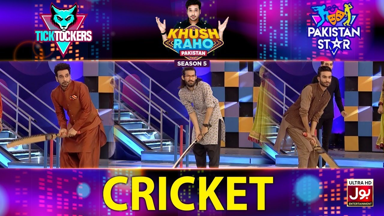 Download Cricket Game | Khush Raho Pakistan Season 5 | Tick Tockers Vs Pakistan Star | Faysal Quraishi