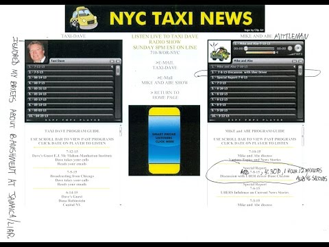 NYC TAXI NEWS INTERNET RADIO INTERVIEW