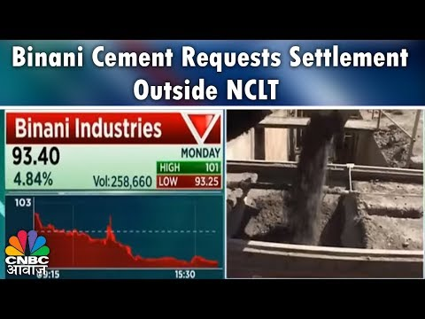 Binani Cement Requests Settlement Outside NCLT | Breaking News | CNBC Awaaz