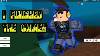 SPEED RUN 4! | ROBLOX!! | I FINISHED THE WHOLE GAME!