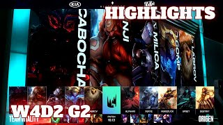 (Highlights) Vitality vs Origen | Week 4 Day 2 S10 LEC Summer 2020 | VIT vs OG W4D2
