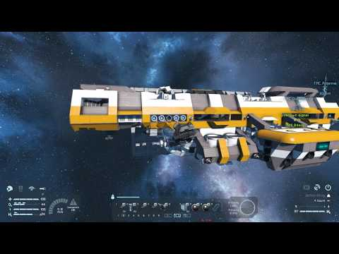 Military Drydock - Ep. 41 - Run and Jump! - Let's Play Space Engineers