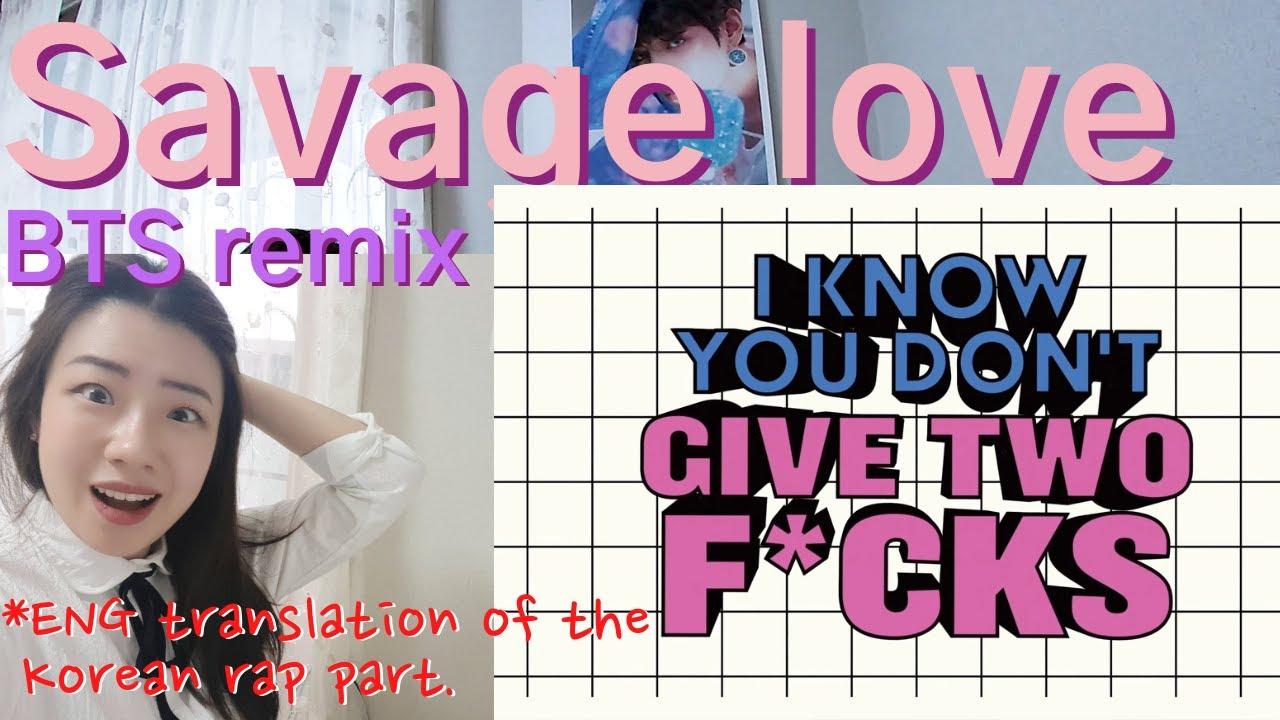 Download SUB)BTS Savage love Remix reaction💜방탄소년단 #SavageLOVE (Laxed Siren Beat)  #SavageLoveRemixBTS