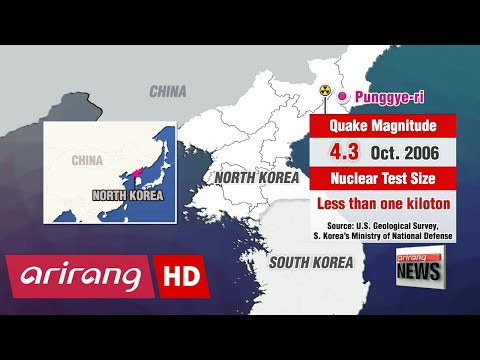 Timeline of N. Korea's past nuclear tests