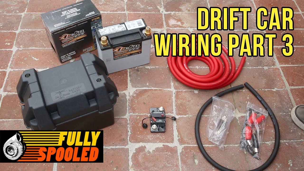 medium resolution of ep 43 wiring a race car from scratch pt 3 battery relocation and more