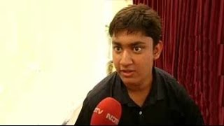 How smart is this 17-year-old? He topped IIT entrance exam