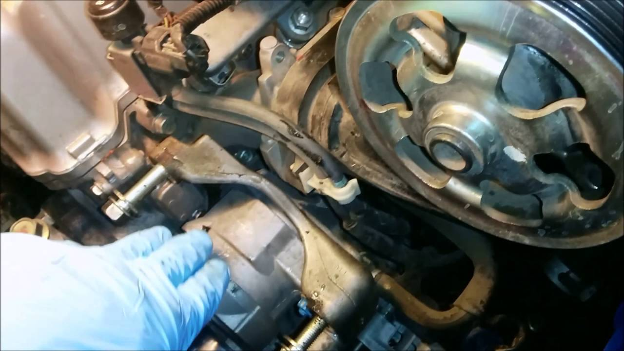 Honda Accord 8th generation 2008-2012 Water Pump ...