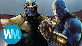TOP10 różnic między filmem Infinity War a komiksem