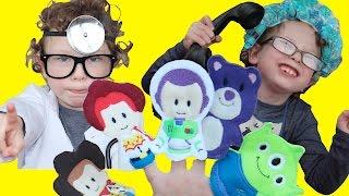 П'ять Маленьких Мавп Іграшка Стиль Історія