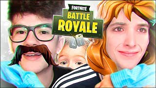 VIRAMOS PAIS DO BRUNINHO | Fortnite