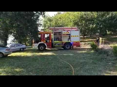 Un incendio arrasa la cocina y afecta a una casa en Callobre