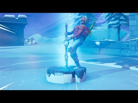 NEW FORTNITE *SWORD* GAMEPLAY (INFINITY BLADE) Fortnite Battle Royale