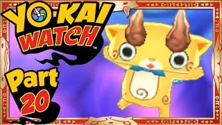Yo-Kai Watch - Part 20 | The Search For Komajiro! [English Gameplay Walkthrough]