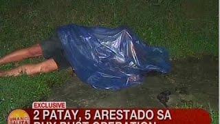 UB: 2 patay, 5 arestado sa buy bust operation sa Bulacan