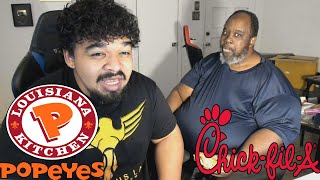 Popeyes Chicken Sandwich VS Chick-Fil-A (is it worth the hype?)