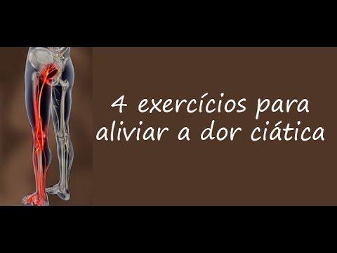 Exercicios nervo ciatico inflamado