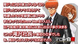 アンケートご協力お願いします #滝沢秀明 #正門良規 #Snow Man #向井康二 #マロン白書.