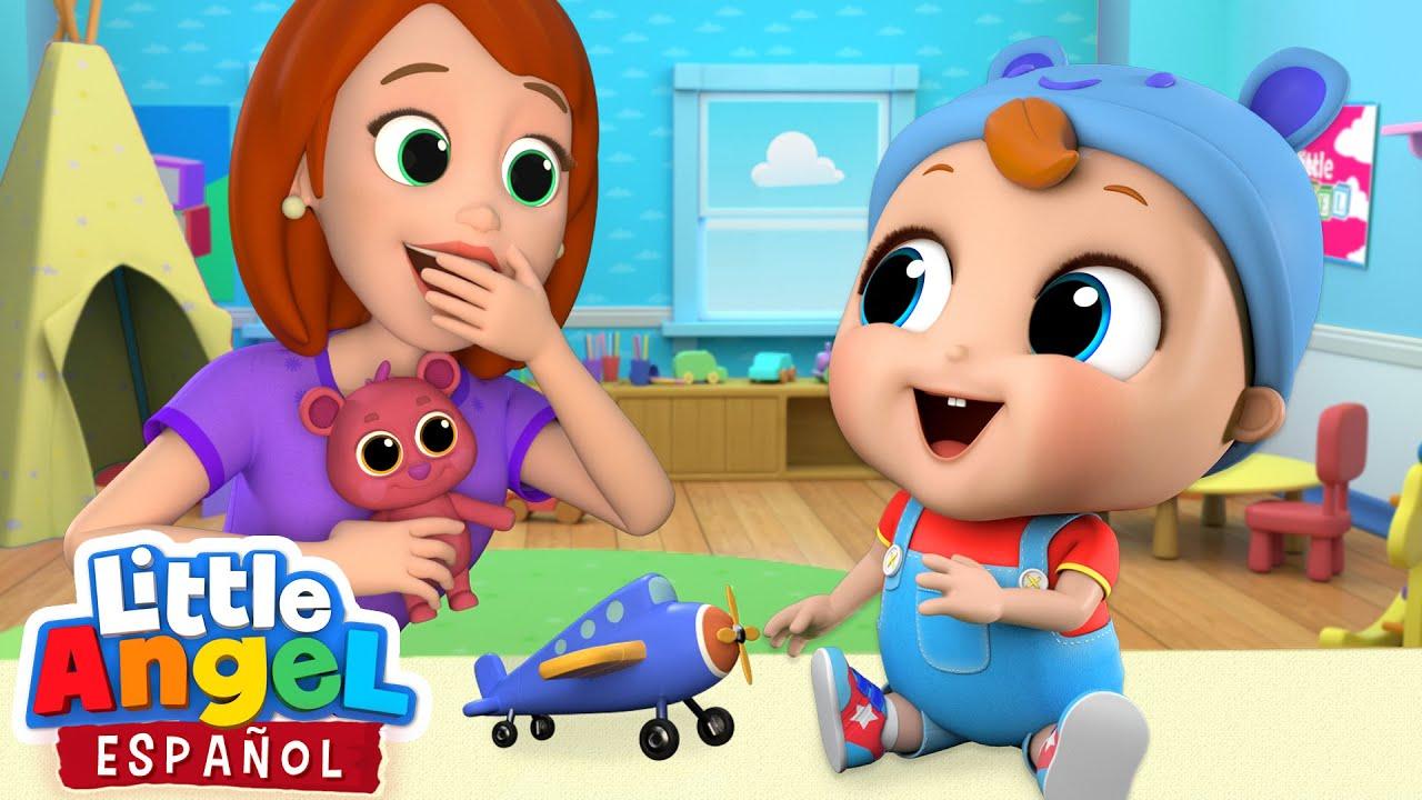 ¡Las Primeras Palabras de Bebé Juan! 😁 | Canciones Infantiles | Little Angel Español