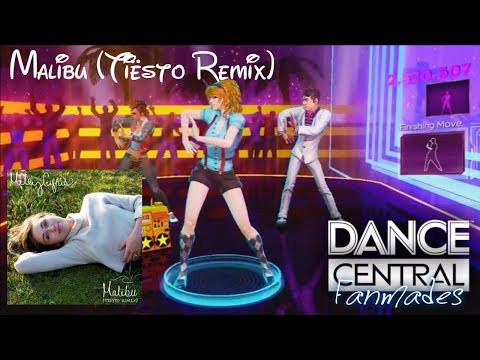 "Dance Central - Malibu (Tiësto Remix)"" Miley Cyrus Fanmade"
