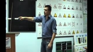 """Видео-урок. Сигналы регулировщика, ПДД. Автошкола """"ВЛАДА""""."""