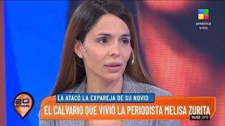 Melisa Zurita mano a mano con Intrusos: