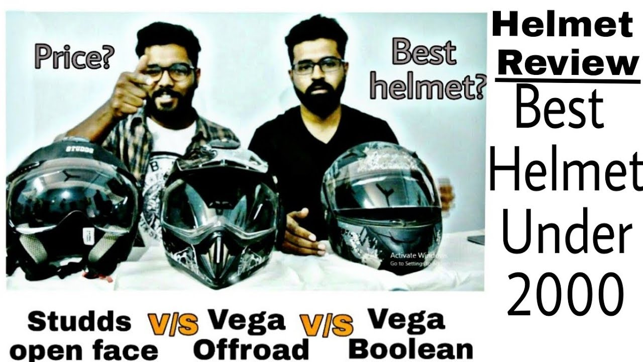 Studds Shifter Helmet Review Youtube: Helmet Under 2000