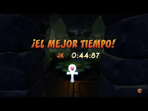 Crash Bandicoot - The Lab Time Trial Platinum Relic