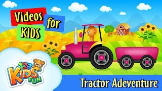 Kinder Traktor | Traktor-für Kinder | Kinder-Fahrzeuge | Tashi Abenteuer | Comic-Videos für Kinder