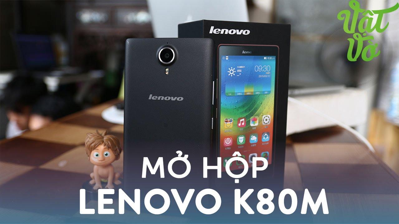 """Vật Vờ  Lenovo K80M giá 4 triệu: 4GB RAM, Pin 4000mAhm, 5.5"""" Full HD"""